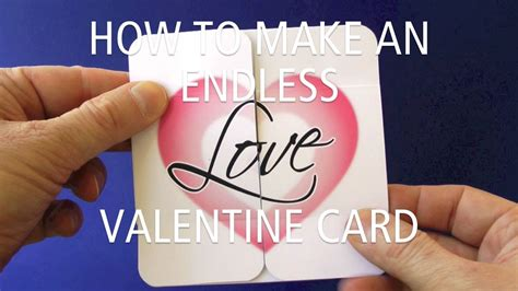 how to make a endless card how to make an endless card