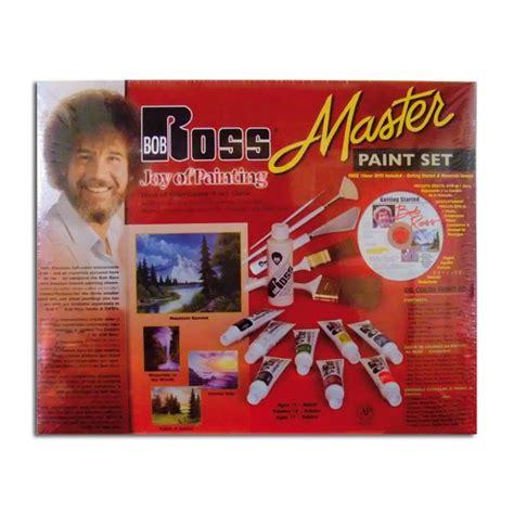 Ken Bromley Supplies Bob Ross Master Paint Set