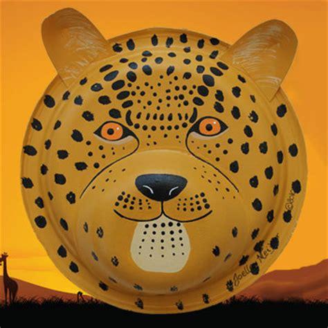 cheetah crafts for cheetah jaguar and leopard mask craft tutorial