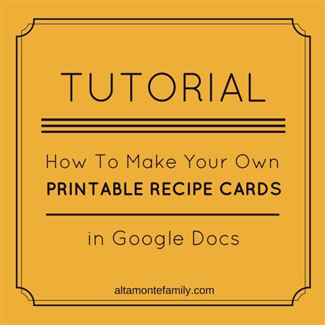 how to make a card free how to make free printables in docs altamonte family