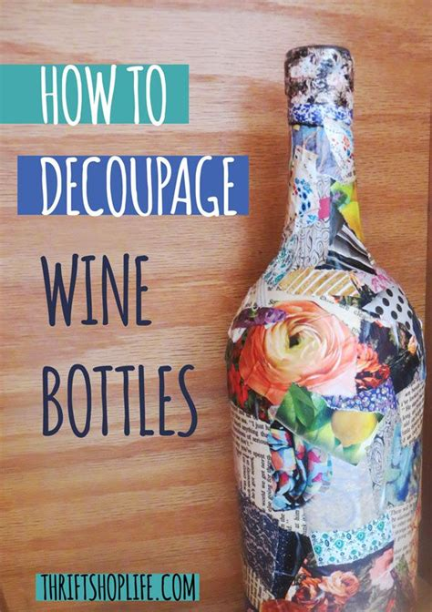 how to decoupage 17 best ideas about decoupage glass on wine