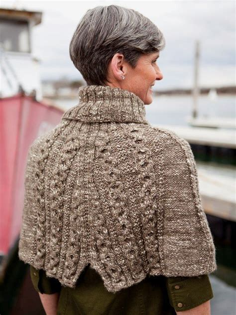 capelet knitting patterns berroco abode erman cabled capelet knitting pattern 333 pdf