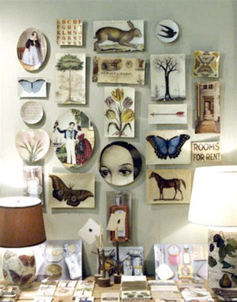 decoupage wall ideas items by designbird derian