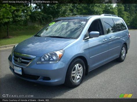 2005 Honda Odyssey Ex L by 2005 Honda Odyssey Ex L In Mist Metallic Photo No