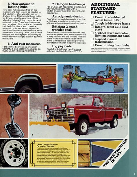 planning ahead to mount plow 1981 f 250 4wd gas