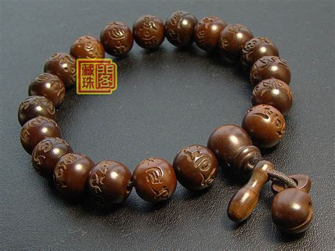 tibetan bead bracelet 10mm tibetan om muni padam hum buddhist prayer