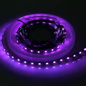 black light led 5m uv 395 405nm ultraviolet 5050 smd led 300leds black