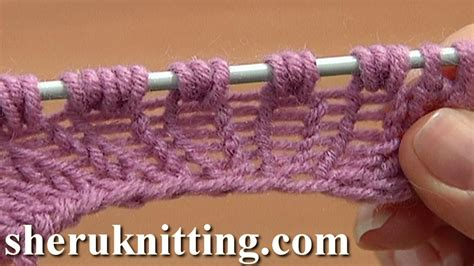 increase in next stitch knitting increase knit 1 yarn knit 1 tutorial 8 part 9 of 14