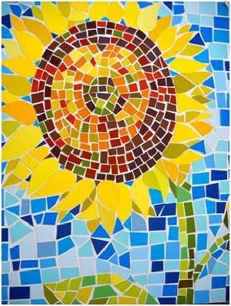 mosaic craft best 25 paper mosaic ideas on construction