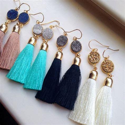 how to make tassels for jewelry 25 best ideas about tassel earrings on