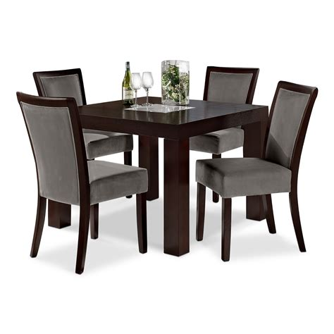 Gray Dining Room Chairs grey dining room chairs decofurnish
