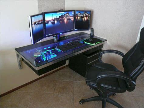 wall mount computer desk wall mounted acrylic computer desk