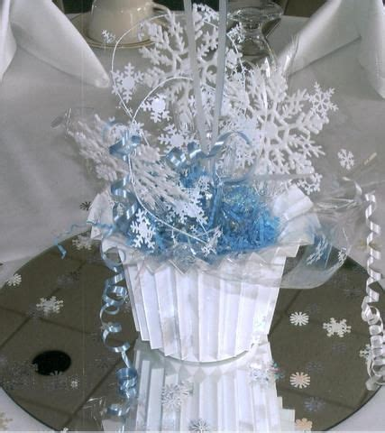 17 best images about snowflake centerpiece on pinterest