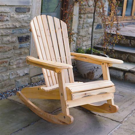 rocking chair garden garden patio wooden adirondack rocking chair