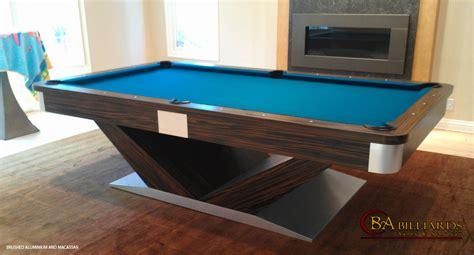 modern pool table contemporary pool tables custom pool tables modern