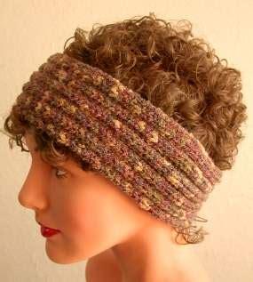 ear warmer loom knitting pattern knit ear warmer pattern a knitting