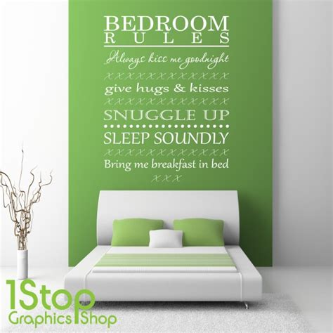 bedroom wall decor stickers bedroom wall sticker quote bedroom wall