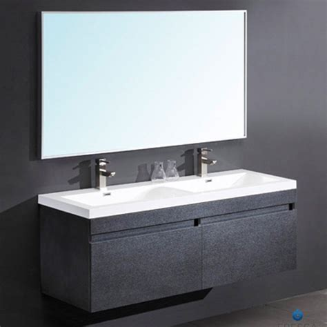 black modern bathroom vanity fresca largo black modern bathroom vanity two finishes