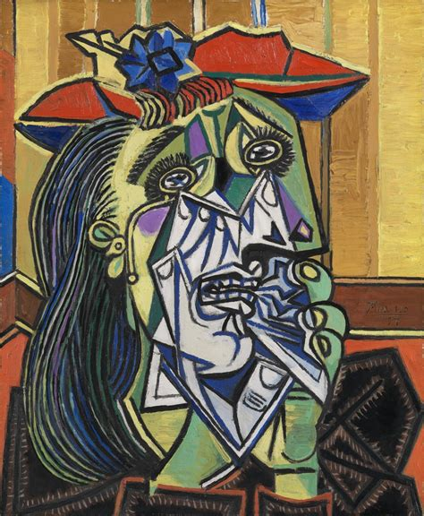 picasso paintings weeping pablo picasso tate