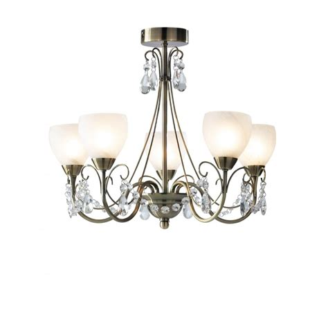 ceiling chandelier lights compact 5 light semi flush ceiling chandelier for low ceilings