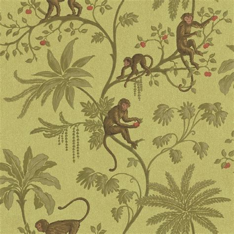 monkey wallpaper for walls discount wallcovering jungle of monkeys wallpaper kfs012