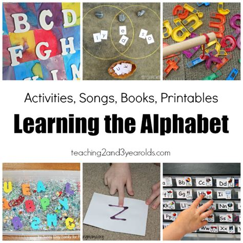 learning crafts for 23 alphabet activities for