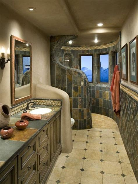 Mirror In Bathroom Ideas walk in shower as an extension of the small bath hum ideas