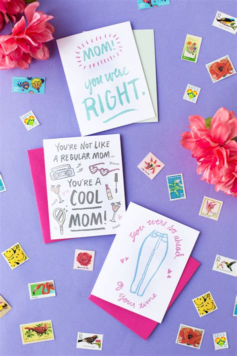 printable mothers day cards for to make three free printable s day cards studio diy