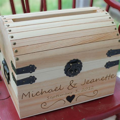 wedding card boxes to make wedding card box treasure cwith special graphic by