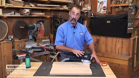 woodworkers of america woodworking tools power tools using a random orbit