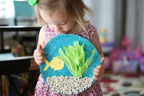 toddler craft projects fish bowl craft family crafts
