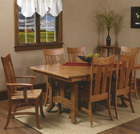 amish table and chairs amish crafted arts crafts dining