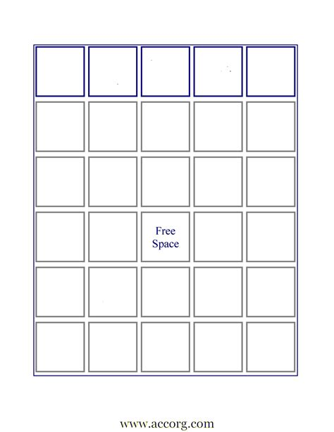 make your own bingo cards template empty bingo board new calendar template site