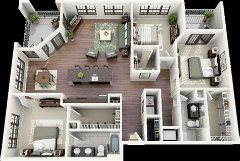 home interior design plans 3 bedroom house plans 3d design 7 home design home design