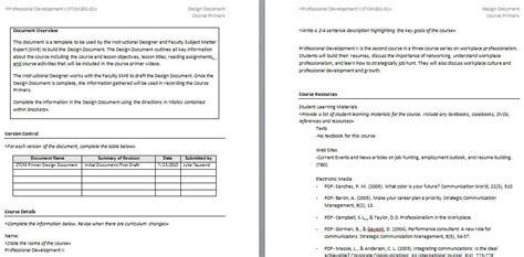 instructional design document tausend talks edtech