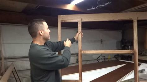 How To Build Kitchen Cabinets Video how to build your own kitchen cabinets part 1 youtube