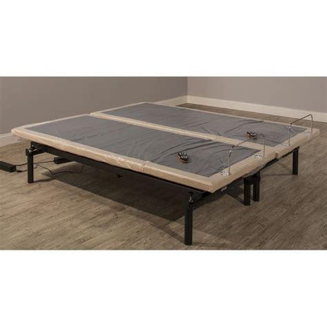 hillsdale bed frame hillsdale wall hugger split king adjustable bed frame 90090
