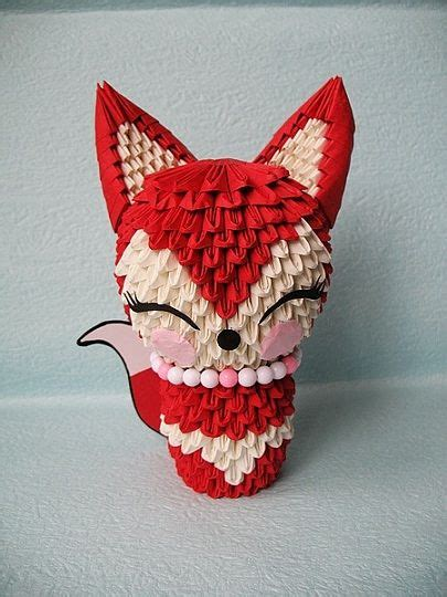 3d origami projects 3d origami fox origami magic