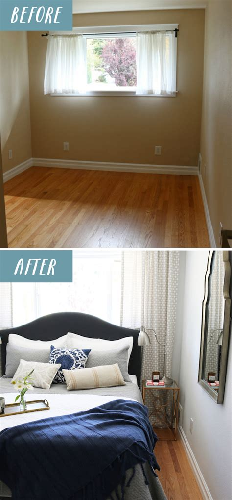 room design for small bedrooms small bedroom makeover before after the inspired room