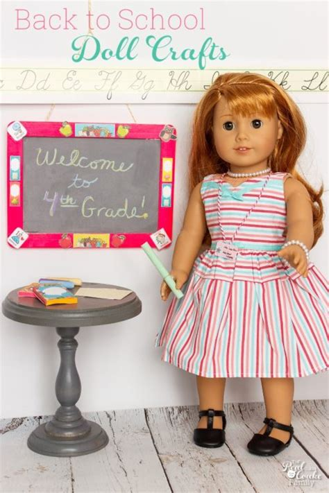 Diy Back To School American Doll Crafts