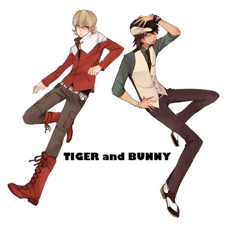 tiger and bunny tiger and bunny by machomachi on deviantart