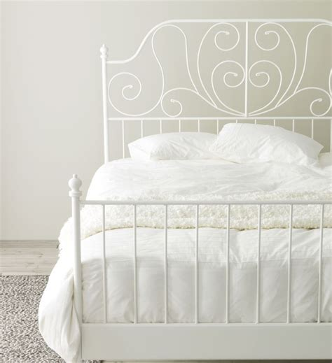 white framed beds best 25 white iron beds ideas on wrought iron
