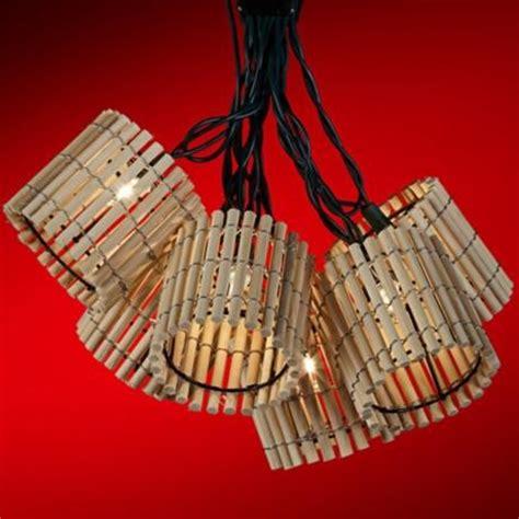 bamboo string lights bamboo lantern light set tropical outdoor rope