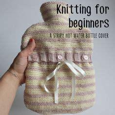 knitting lessons for beginners reindeer water bottle cover animal pattern