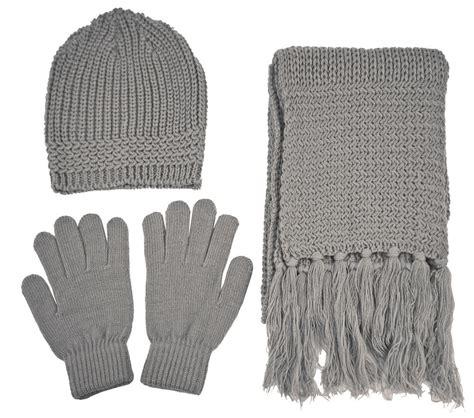 bulk knit gloves wholesale winter ski knit beanie scarf gloves set