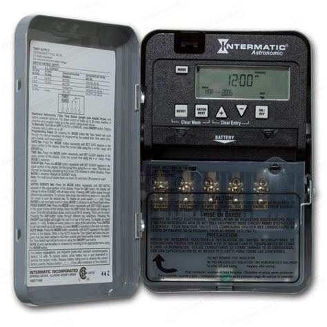 intermatic timer intermatic et1105c electronic timer 24 hr