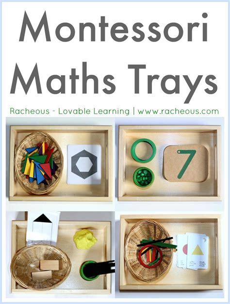 montessori math montessori maths trays racheous lovable learning