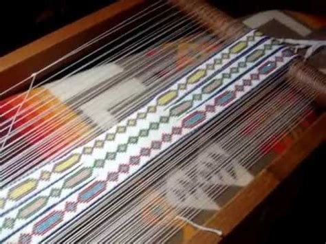 how to set up a bead loom introduction to an open bead loom