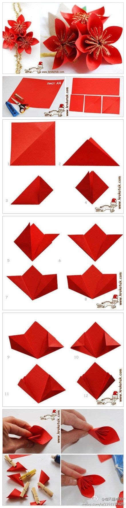 origami poinsettia flower origami poinsettia pictures photos and images for
