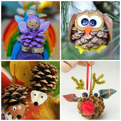 pine cone craft projects pine cone crafts for to make crafty morning